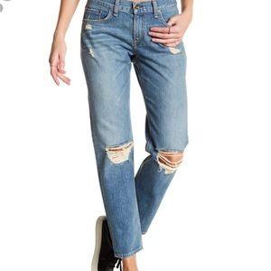 Rag & Bone NWT Distressed Boyfriend Jeans 32 New